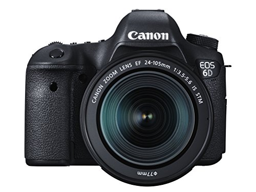 Canon EOS 6D DSLR with 24-105mm Lens