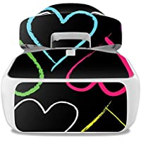 Skin For DJI Goggles – Hearts | MightySkins Protective, Durable, and Unique Vinyl Decal wrap cover | Easy To Apply, Remove, and Change Styles | Made in the USA