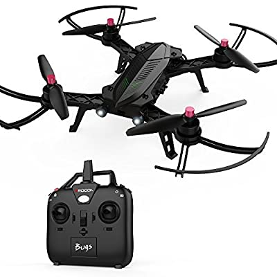 DROCON Bugs 3 Powerful Brushless Motor Quadcopter Drone for Adults and Hobbyilists, High Speed Flying Drone by D