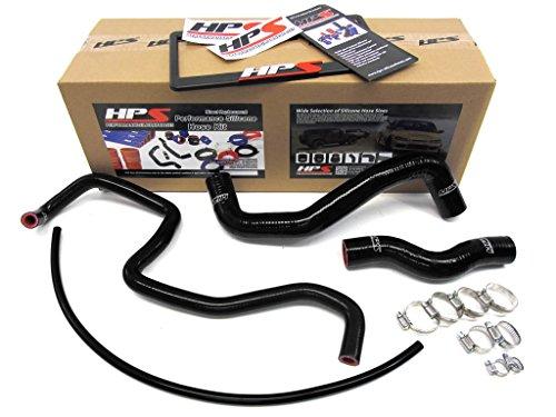 Nissan 03-06 350Z HPS Black Reinforced Silicone Radiator Hose Kit Coolant