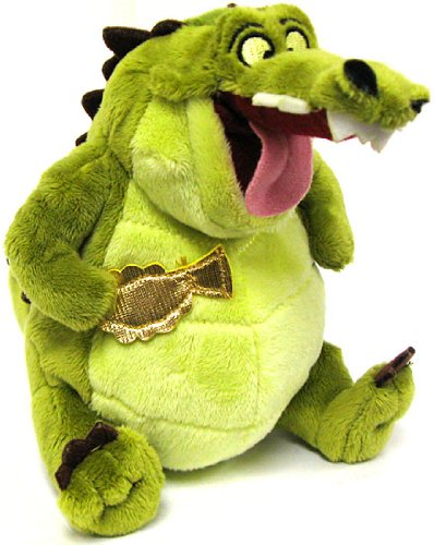 Frog Plush Doll - Disney The Princess and the Frog Exclusive 6 Inch Plush Figure Doll Louis the Alligator