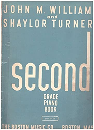 john m williams and shaylor turners very first piano book