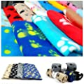 Bhbuy Warm Paw Print Soft Pet Dog Cat Puppy Soft Blanket Mat Cover Cushion