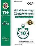 10-Minute Tests for 11+ Comprehension Ages 10-11 (Book 1) - CEM Test
