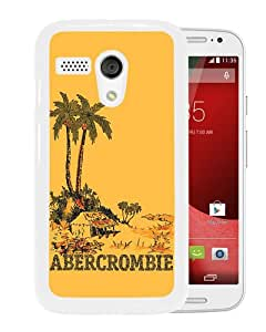 Hot Sale Motorola Moto G Case ,Unique And Lovely Designed Case With Abercrombie and Fitch 17 White Motorola Moto G Cover