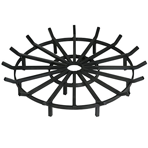 Heritage Products Super Heavy Duty Wagon Wheel Firewood Grate for Fire Pit, 36 Inch Diameter Review