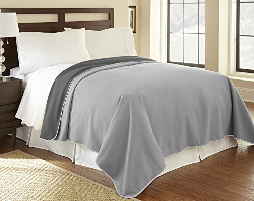 "Mambe 100% Waterproof Furniture Cover for Pets and People (King/Queen 90""x90"", Dove-Slate)"