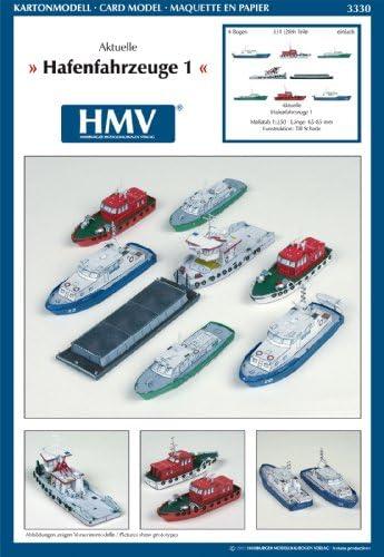 HMV3330 ハーバーボート 1:250<カードモデル>