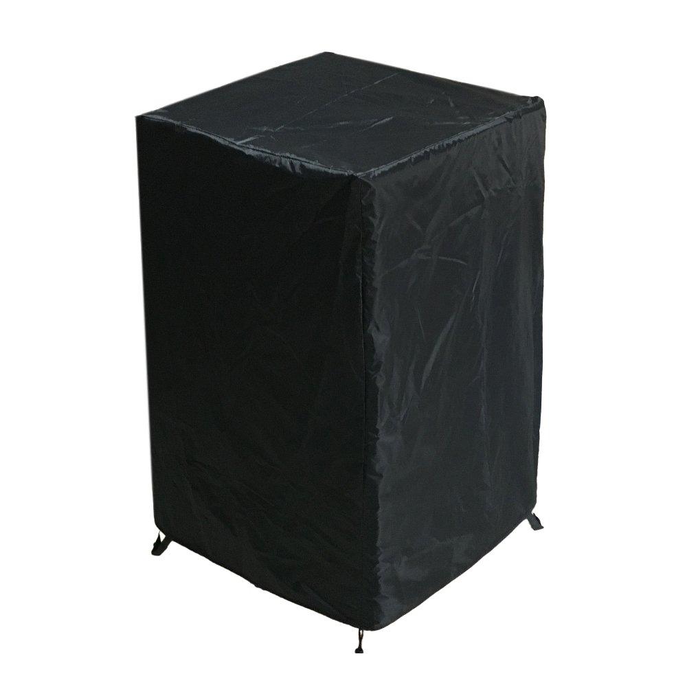 Awnic Wasserdichter 3-Sitzer Bankabdeckung Gartenbankabdeckung Anti-UV Beschichtung im Inneren Anti-Wind Schnalle Design -Schwarzes Silber AwnicStore