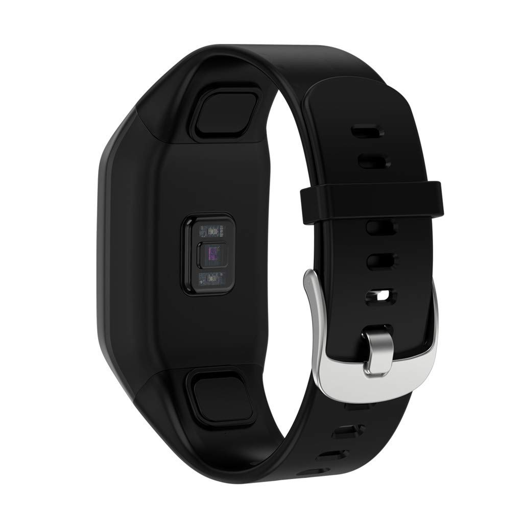 LUXISDE Fitness Bracelet Smartwatch Ladies, Activity Tracker Heart Rate Activity Step Curved Design SmartSurface Bracet for Kids Women Men by LUXISDE (Image #2)