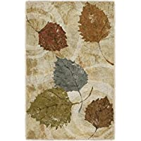 Brumlow Mills EW10332-20x34 Golden Autumn Landscape Kitchen and Entryway Leaf Rug, 18 x 210