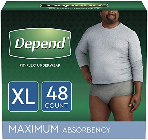 Depend Incontinence Underwear Absorbency Disposable product image