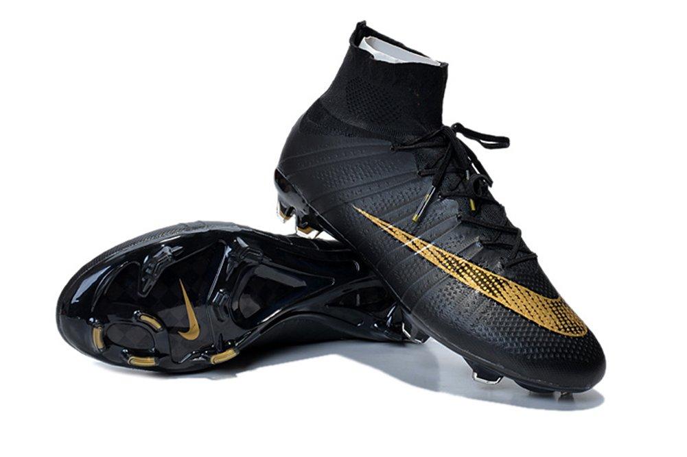 Demonry Schuhe Herren Fußball Mercurial Superfly FG schwarz Fußball Stiefel