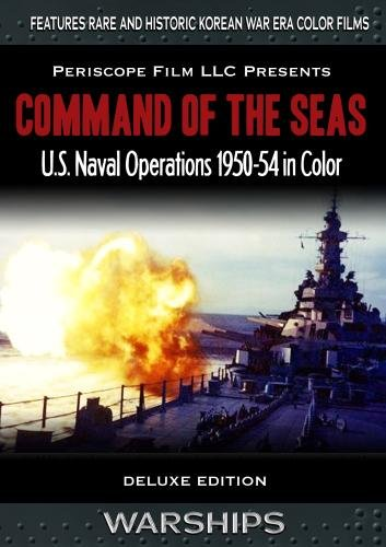 Command of the Seas  U.S. Navy Operations in Color 1950-54 Command Cruiser