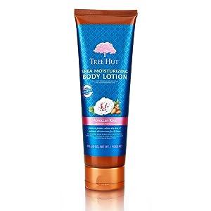 Tree Hut Shea Moisturizing Body Lotion Moroccan Rose, 9oz, Ultra Hydrating Body Lotion for Nourishing Essential Body Care