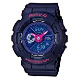 Casio Baby-G BA110PP-2A Punching Pattern Series Analog Digital Blue Watch