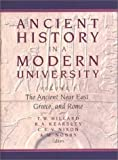 img - for Ancient History in a Modern University: The Ancient Near East, Greece, and Rome book / textbook / text book