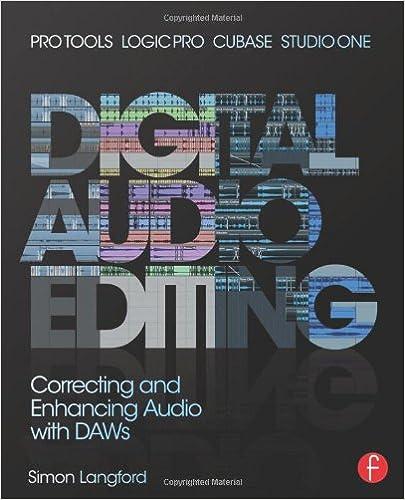 Amazon com: Digital Audio Editing: Correcting and Enhancing Audio in