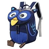 target backpack purse - Monique Kids Children Cute Owl Oxford Schoolbag Backpack Pre School Toddler Shoulder Bag Blue