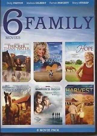 6 Family Movies / Thicker Than Water / Blue Valley Songbird / For Heaven's Sake / Heartland Son / Silk Hope / Wilderness Love