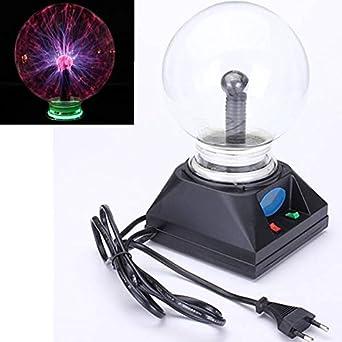 SOLMORE 4 Inch bola mágica balón Foudre táctil cristal lámpara ...