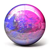 Pyramid Path Bowling Ball (Pink/Purple/Silver, 8 LB)