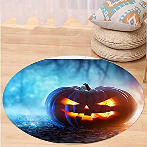 Kisscase Custom carpet Decorative Hanging Ornaments for Bedroom Living Room with halloween pumpkin