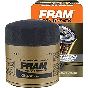 FRAM XG3387A Ultra Synthetic Spin-On Oil Filter with Sure Grip
