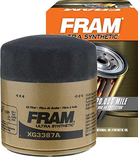 FRAM XG3387A Ultra Synthetic Spin-On Oil Filter with SureGrip