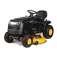 "Poulan Pro 960420195 46"" 17.5HP Briggs and Stratton Automatic Gas Front-Engine Riding Mower from Poulan Pro"