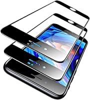 TORRAS iPhone SE 用ガラスフィルム iPhone 8 用フィルム iPhone 7 用フィルム 2020改良·縁が浮かない 2枚セット 日本旭硝子製 9H強化 液晶全面保護フィルム 高透過率 指紋防止 耐衝撃