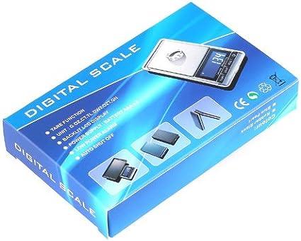 Balanza Digital Báscula de Precisión Pesa 0,01g a 300g Escala 0.01 ...