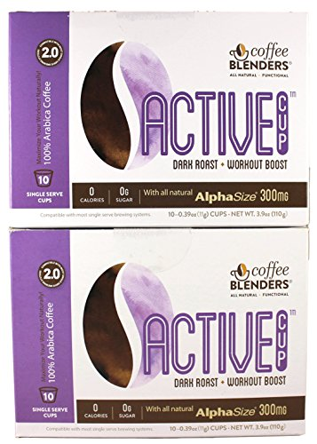 Coffee Blenders Active 2.0 Single Serve Cups (Pack Of 2)