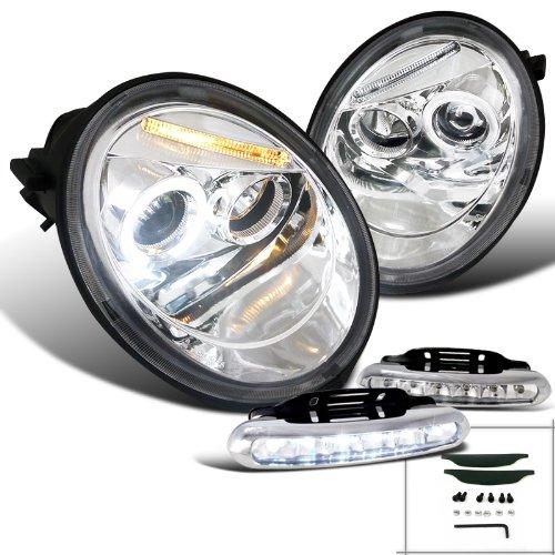 Volkswagen Beetle Projector Headlights Driving
