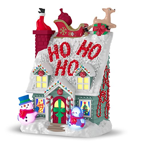 Hallmark Keepsake Christmas Ornament 2018 Year Dated, Merriest House in Town with Music and Light ()