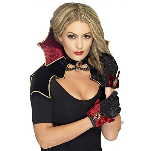 Vampire Costume Kit Adult or Teen Womens or Girls Halloween Fancy Dress ()