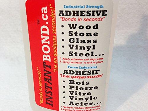 Instant Bond World's Fastest Curing Super Glue Adhesive 100
