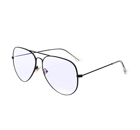 Amazon.com: YANQIUYU 3025 Classic Lightweight Aviator Glasses Non ...