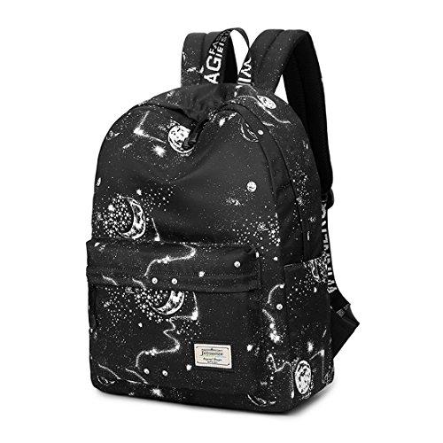 cute black teen side backpack - 2