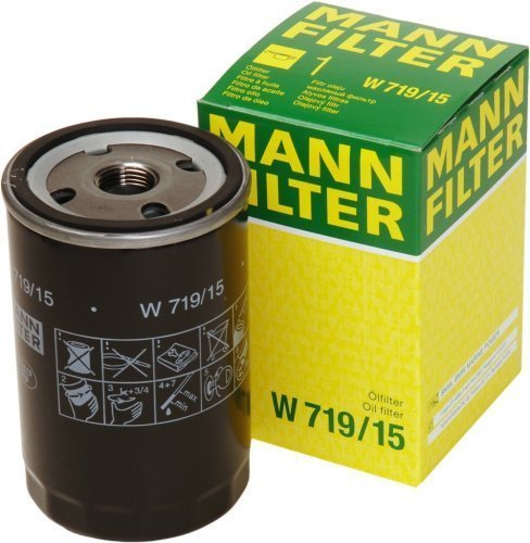 Mann-Filter W 719/15 Spin-on Oil Filter by Mann Filter