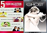 Decades Then & Now 6 Romance Movie DVD Bundle The Philadelphia Story / Cat on a Hot Tin Roof / Splendor in Grass / Ghost Patrick Swayze / You've Got Mail / Nights in Rodanthe Warner Collection