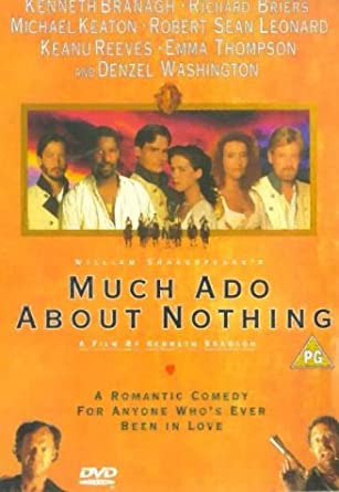 much ado about nothing as a romantic comedy