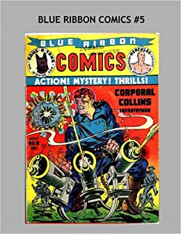 Book Blue Ribbon Comics 5: Hercules, Rang-A-Tang, Gypsy Johnson, Corporal Collins, The Fox, Ty-Gor, Doc Strong -- More!