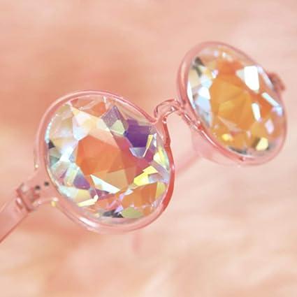 Gafas de Sol Kaleidoskope Estilo Vintage con Prisma arcoíris ...