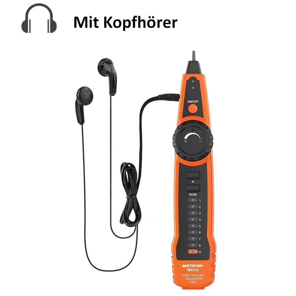 Kabel Tester, Meterk Line Finder RJ11 RJ45 Handheld: Amazon.de ...