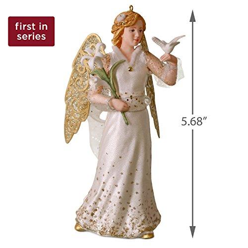 4 Hallmark Keepsake Christmas Ornament Angels