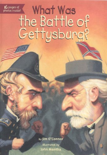 What Was The Battle Of Gettysburg? (Turtleback School & Library Binding Edition) pdf epub