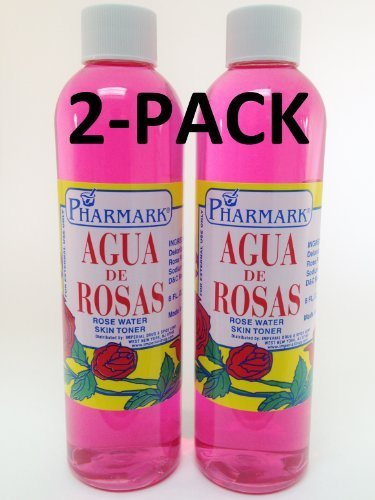 Price comparison product image Agua De Rosas 8 Oz. Rose Water 2-PACK