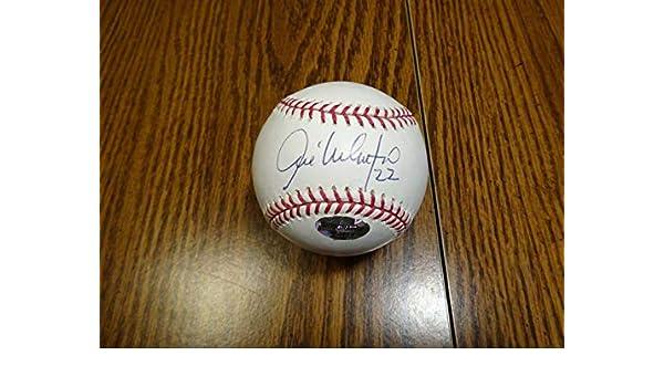 6e07bc98 Jose Valentin Signed Baseball - OML - Autographed Baseballs at Amazon's  Sports Collectibles Store