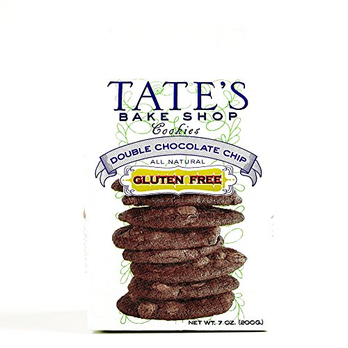 Tate's Gluten-Free Double Chocolate Chip Cookies 7 oz each (1 Item Per Order)